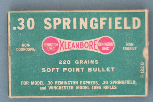 Early .30 Springfield Ammunition from Remington Arms Co. Top