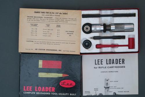 Lee Loader for 25-06 Cartridges