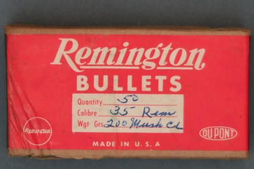 35 Remington 200 Grain Bullets