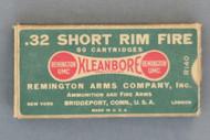 32 Short Rim Fire Cartridges by Remington Arms Co.