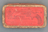Fifty .32 Calibre Short No. 2 Pistol Cartridges Top