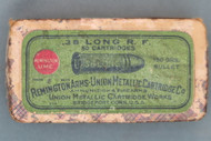 38 Long Rim Fire Ammunition by Remington Arms-Union Metallic Cartridge Co. Top