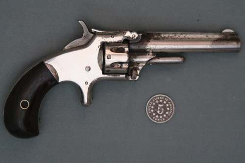 Smith & Wesson No. 1 Third Issue Revolver S# 131155 Right Side