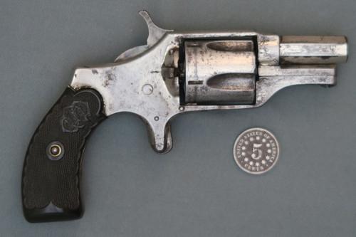 C. S. Shattuck Boom Revolver S# 1733 Right Side