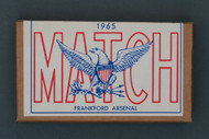 1965 Frankford Arsenal 7.62 MM Match Ammo