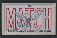 1966 Lake City 7.62 mm Nato Match Ammo