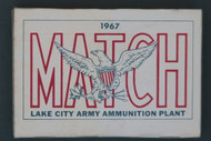 1967 Lake City Caliber .30 Match Ammo