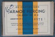 Utah Ordnance Plant Caliber .30 M2 Armor Piercing Cartridges