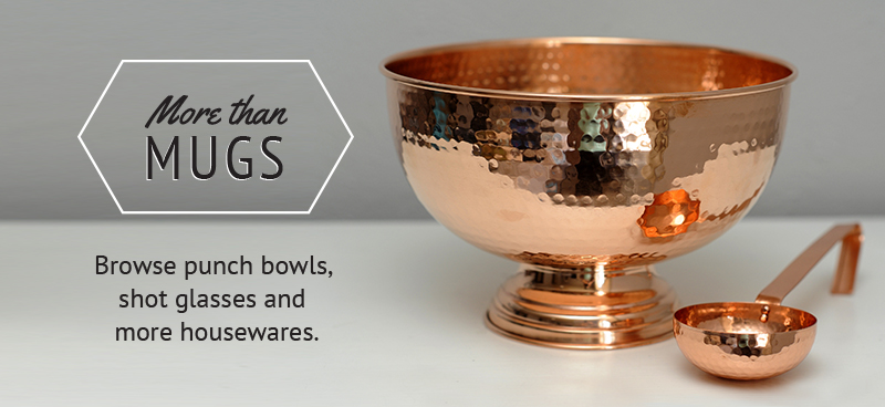 Our artisan, pure copper punch bowl is a perfect addition to any party, wedding or holiday gathering.