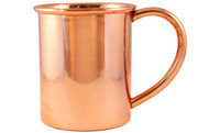 Copper Moscow Mule Mug With Handle