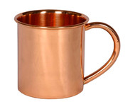 10 Pack of 14 oz Moscow Mule Mugs with Handle