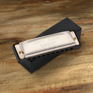 Personalized 10 Hole Stainless Steel Harmonica