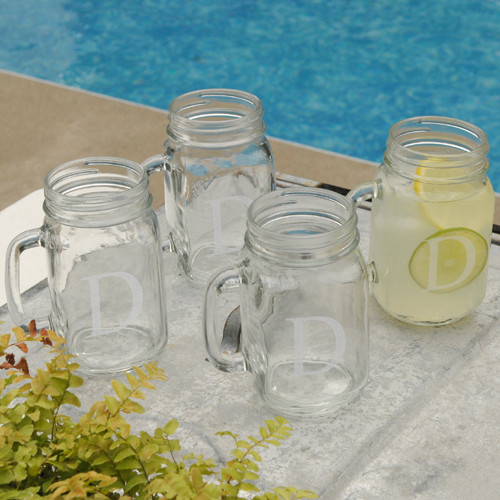 Personalized Classic Jar Glasses