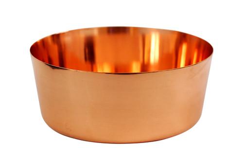 Pure Copper Bowl 7 Inches Wide