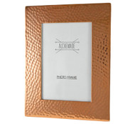 "5""x7"" Hammered Copper Picture Frame"