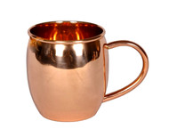 16 oz Barrel Copper Moscow Mule Mug 10 Pack