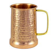 Hammered Copper Beer Stein - 20 oz