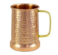 Hammered Copper Beer Stein - 20 oz