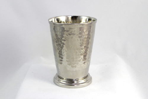 12 oz Hammered Nickel Mint Julep Cup