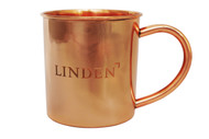 Engraved copper mug