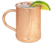 16 oz Copper Cup - 100% Pure Copper