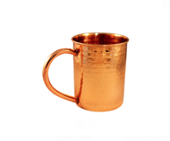 Hammered Copper Mug - 12 oz