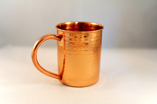 Hammered Copper Mug Moscow Mule 12 oz