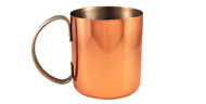 12 oz Stainless Steel Copper Plated Moscow Mule Mug