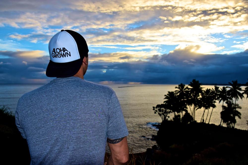 Aloha Grown Logo Trucker Cap