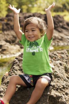 "Aloha Grown ""Future Farmer"" Infant/Toddler Tee"