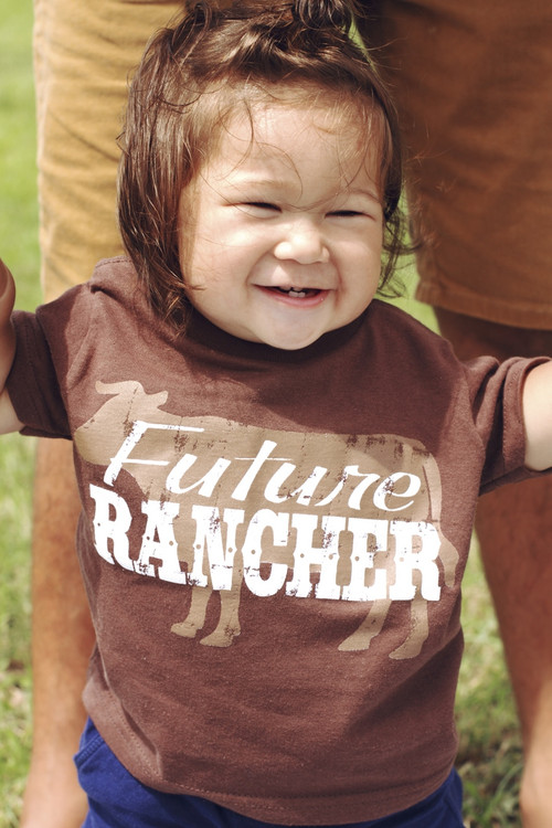 "Aloha Grown ""Future Rancher"" Infant/Toddler Tee"