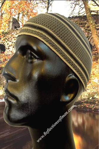 Indonesian Style Kufi - Forest Green