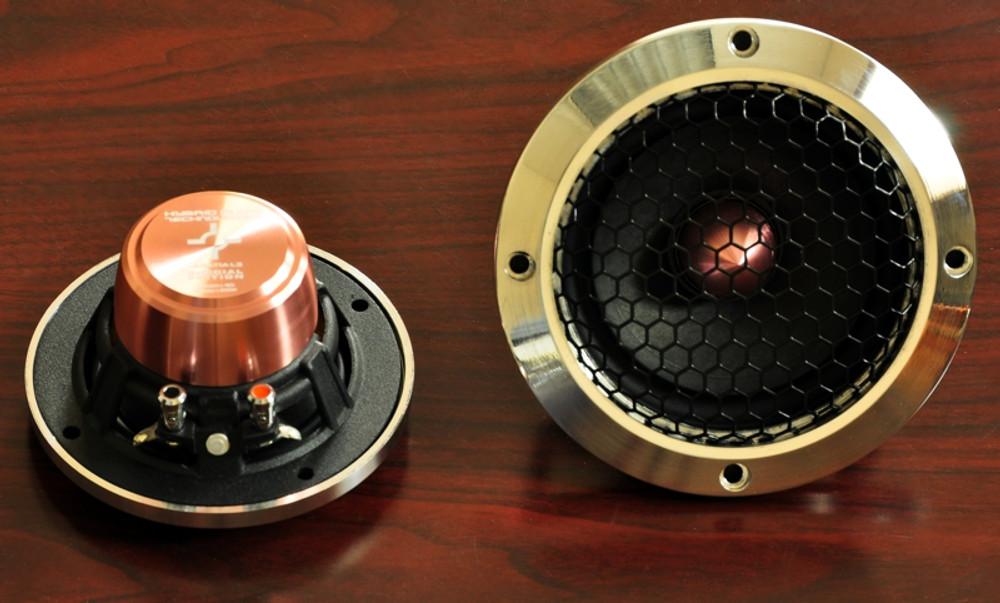 Billet Aluminum Legatia L4 Speaker Grille Set