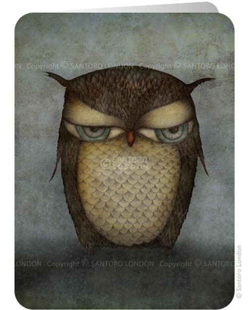 Card: Owl