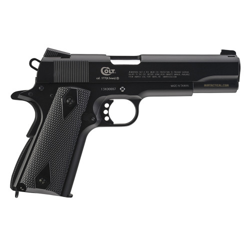 COLT COMMANDER AIRGUN .177 STEEL BLACK