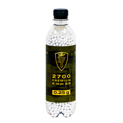 BB 0.25 GRAM 2700 BOTTLE AIRSOFT