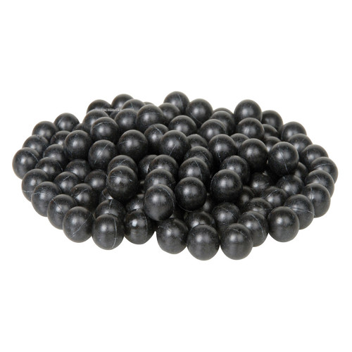 0.43MM RUBBER ROUNDS YELLOW 500 BAG BLK