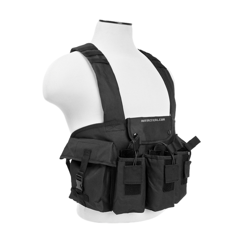 AK CHEST RIG BLACK