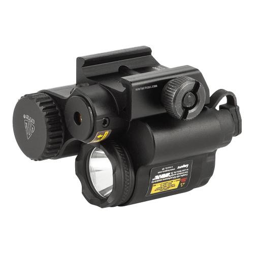 SUB COMPACT LED LIGHT W/ ADJ RED LASER
