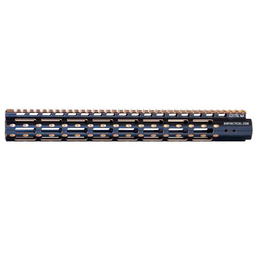 PRO M-LOCK M STYLE 15` S-SLIM RAIL BRONZ