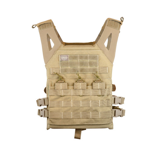 JPC STYLE PLATE CARRIER VERSION II TAN