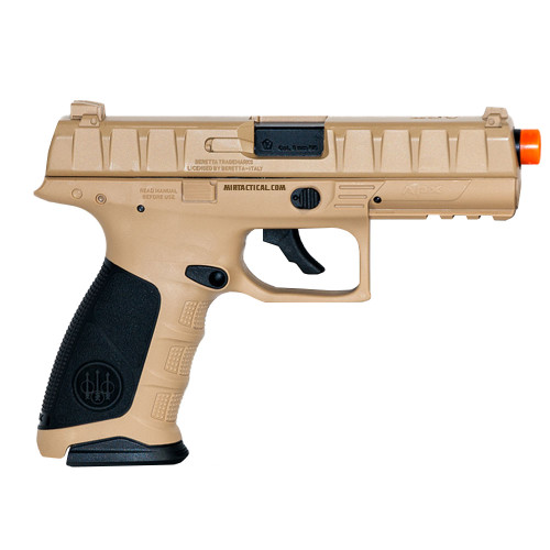 BERETTA APX AIRSOFT CO2 PISTOL BLK/TAN