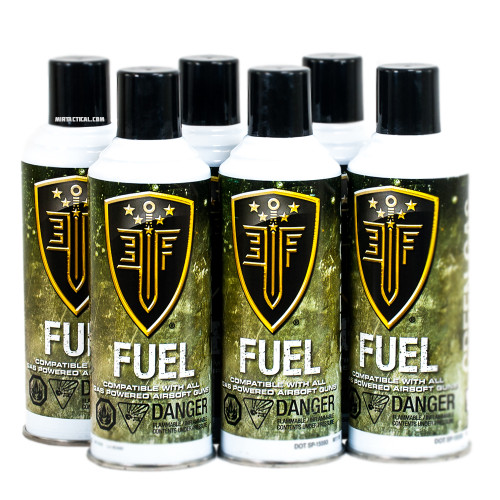 6 PACK PREMIUM AIRSOFT GREEN GAS