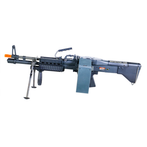 US ORDNANCE M60E4 / MK43 COMMANDO AIRSOFT AEG MACHINE GUN