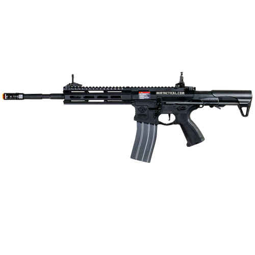 CM16 RAIDER-L 2.0E AIRSOFT RIFLE AEG BLACK W/DEANS