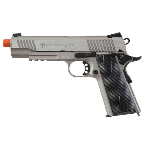 EF 1911 TAC AIRSOFT CO2 PISTOL STAINLESS