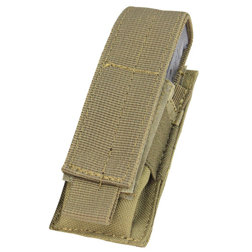 SINGLE PISTOL MAG POUCH TAN