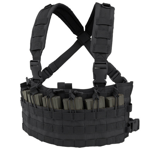 RAPID ASSAULT CHEST RIG BLACK