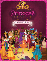 Princess Planet: Coloring Book by Isreal Cook