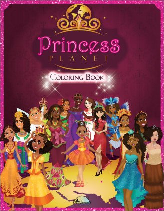 PRINCESS PLANET: COLORING BOOK